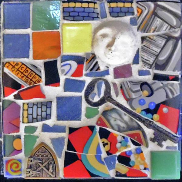 Wall Art - Mixed Media - Key To The Past by ILona Halderman