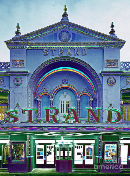 Wall Art - Photograph - Key West Florida Strand Theater Art Deco With A Twist by John Stephens