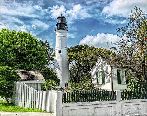 Wall Art - Photograph - Key West Lighthouse by George Moore