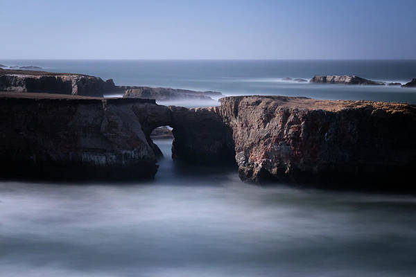 Wall Art - Photograph - Keyhole Rock Arches Point Area by Marnie Patchett