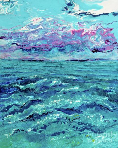 Painting - Keys Seascape by Marilyn Young