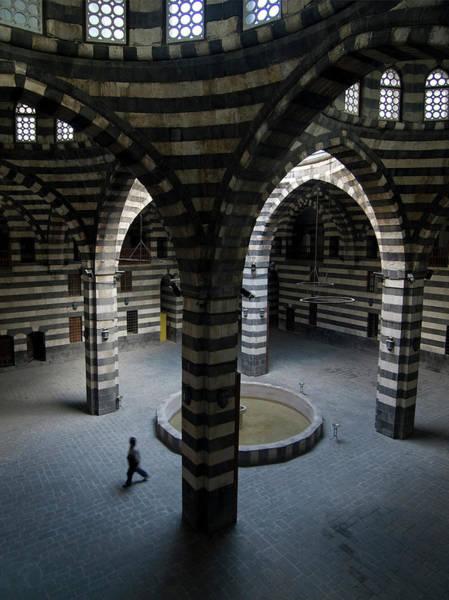 Damascus Photograph - Khan Asad Pasha, Syria by Julian Kaesler
