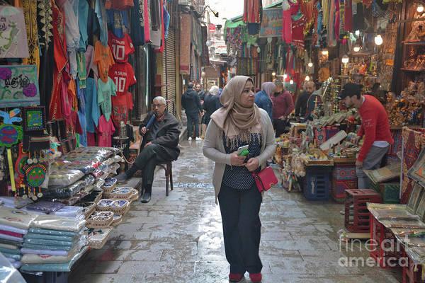 Wall Art - Photograph - Khan El-khalili Bazaar by Andrea Simon