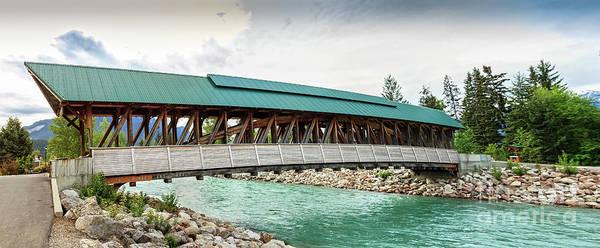 Wall Art - Photograph - Kicking Horse Pedestrian Bridge  by Robert Bales