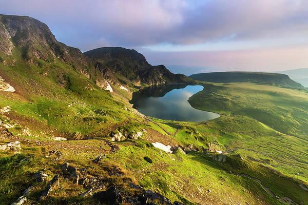 Seven Photograph - Kidney Lake by Evgeni Dinev