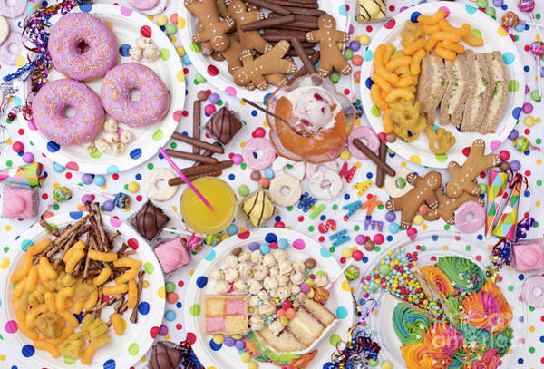 Photograph - Kids Party Food by Tim Gainey