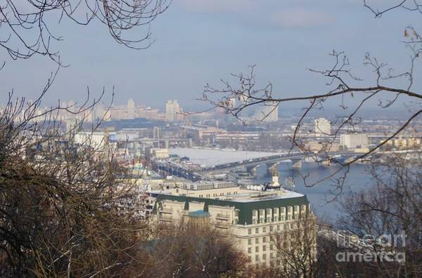 Dnieper Photograph - Kiev Skyline by Margaret Brooks
