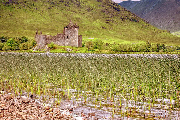 Photograph - Kilchurn Castle On Loch Awe - Scotland - Argyll And Bute by Jason Politte