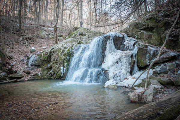 Photograph - Kilgore Falls In Winter by Mark Duehmig
