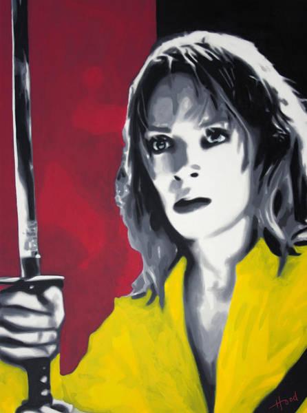 Reservoir Dogs Painting - Kill Bill by Luis Ludzska Hood