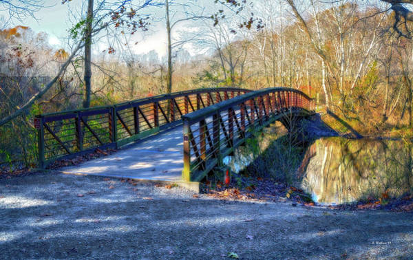 Felton Photograph - Killens Pond Bridge Pano by Brian Wallace