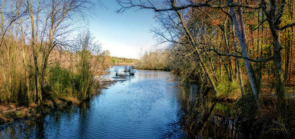 Felton Photograph - Killens Pond From Bridge Pano by Brian Wallace
