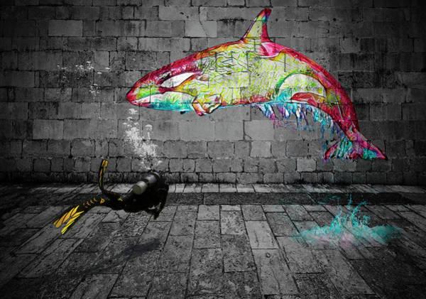 Digital Art - Killer by Scott Campbell