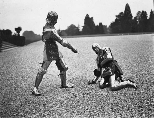 Protective Clothing Photograph - Killing Of Hotspur by Puttnam