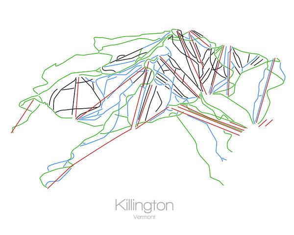 on killington vt city street map printable