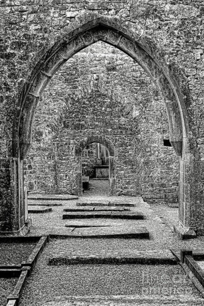 Wall Art - Photograph - Kilmacduagh Monastery Archway by Olivier Le Queinec