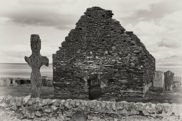 Photograph - Kilnave Chapel by Nicholas Blackwell