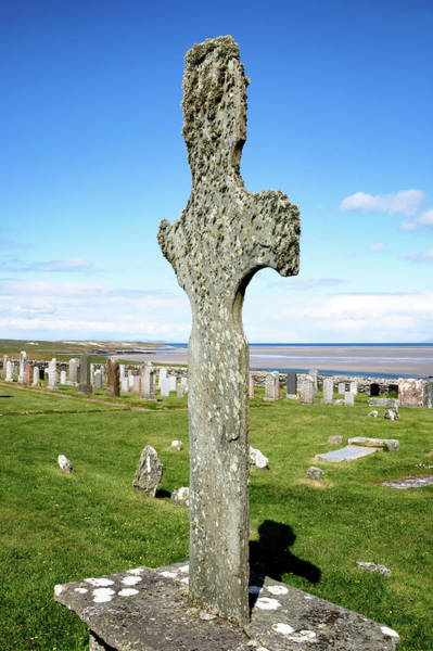 Photograph - Kilnave Cross by Nicholas Blackwell