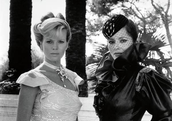 Kim Basinger Photograph - Kim Basinger And Barbara Carrera In 007, James Bond Never Say Never Again -1983-. by Album