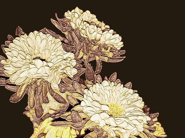 Mixed Media - Kimono Garden by Susan Maxwell Schmidt