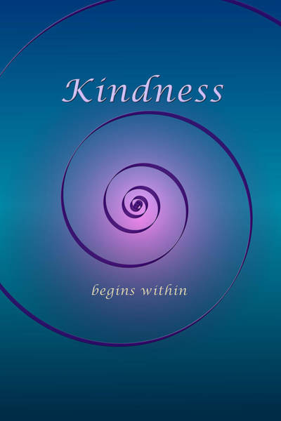 Digital Art - Kindness by Ruth Evelyn