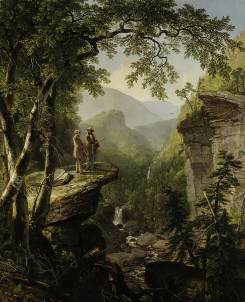 Wall Art - Painting - Kindred Spirits, 1849 by Asher Brown Durand