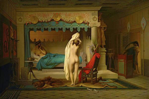 Oracle Wall Art - Painting - King Candaules, 1859 by Jean-Leon Gerome