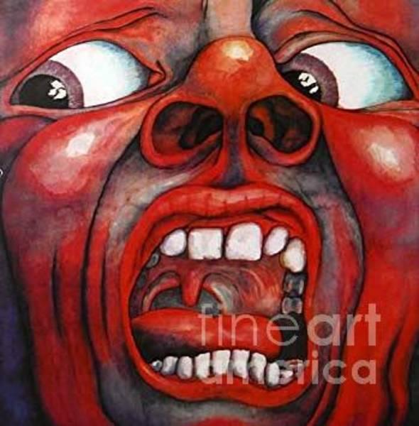 Wall Art - Drawing - King Crimson  by Jd Bearden