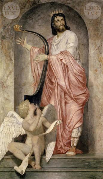 Wall Art - Painting - King David by Arnold Bocklin