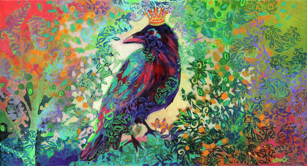 Wall Art - Painting - King For A Day by Jennifer Lommers