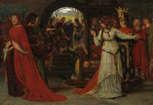 Wall Art - Painting - King Lear, 1860 by Ford Madox Brown
