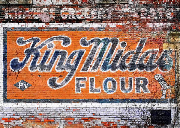 Wall Art - Photograph - King Midas Flour by Todd Klassy