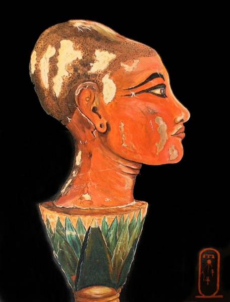 Painting - King Tut, The Boy King by Philip Bracco