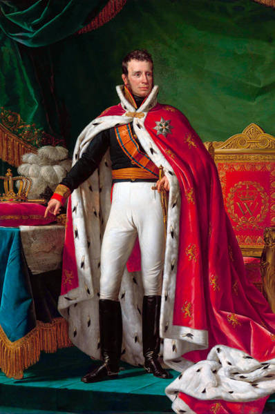 Wall Art - Painting - King William I Of The Netherlands by War Is Hell Store