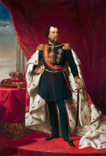Wall Art - Painting - King William IIi Of The Netherlands by War Is Hell Store