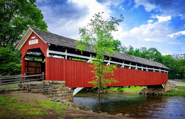 Photograph - Kings Covered Bridge by Carolyn Derstine