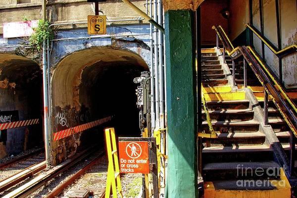 New York Wall Art - Photograph - Kings Hwy Subway Station In Brooklyn, New York by Zal Latzkovich