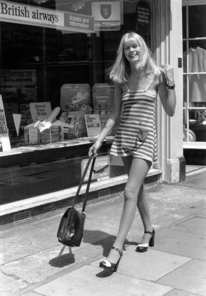 1974 Photograph - Kings Road Model by O'meara