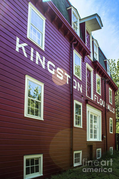 Wall Art - Photograph - Kingston Flour Mill House by Colleen Kammerer