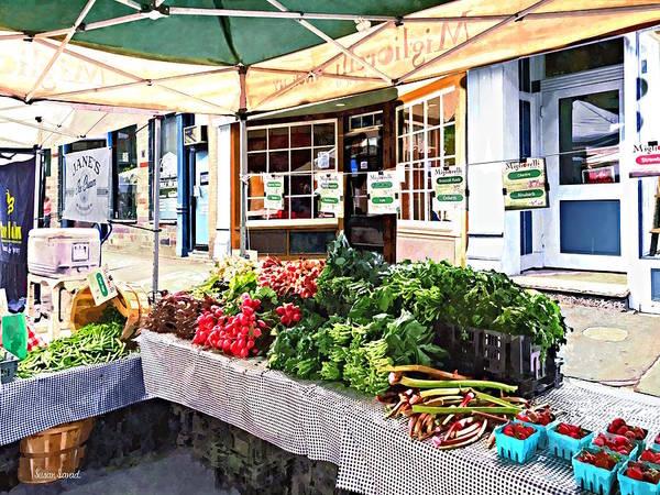 Photograph - Kingston Ny - Farmers Market by Susan Savad
