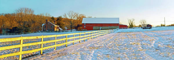 Kingsville Photograph - Kingsville Farm In Winter by Brian Wallace