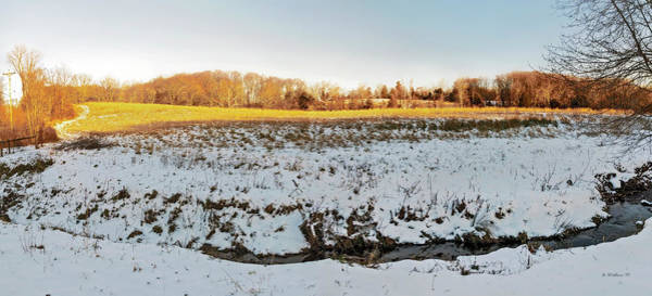 Kingsville Photograph - Kingsville Md Landscape Pano by Brian Wallace