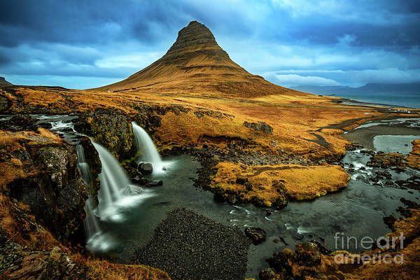 Wall Art - Photograph - Kirkjufell View by Jamie Pham