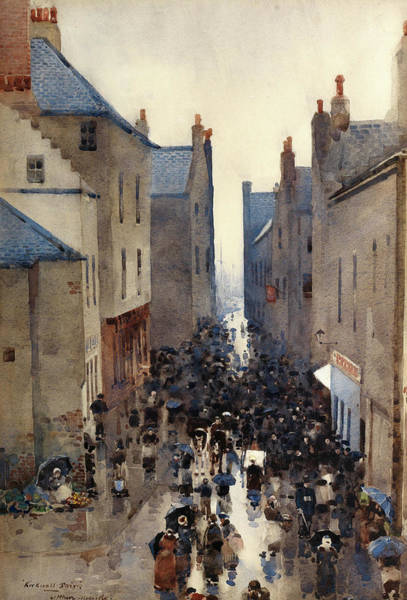 Wall Art - Painting - Kirkwall Fair by Arthur Melville