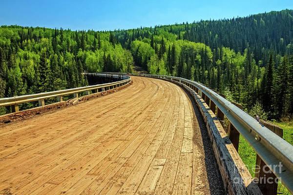 Wall Art - Photograph - Kiskatinaw Bridge by Robert Bales
