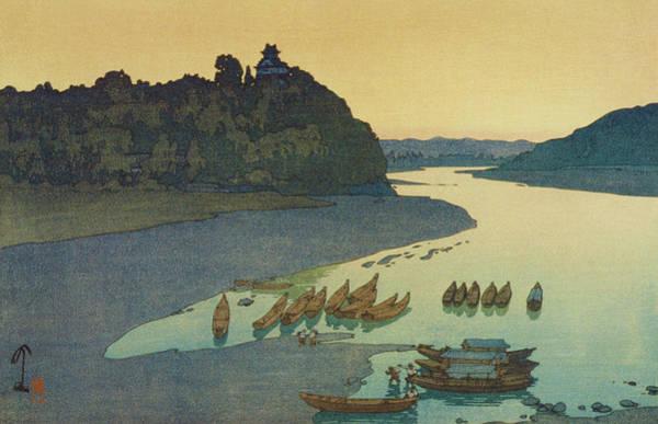 Wall Art - Painting - Kiso River - Digital Remastered Edition by Yoshida Hiroshi