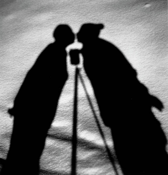 Photograph - Kissing Shadows by Alfred Eisenstaedt