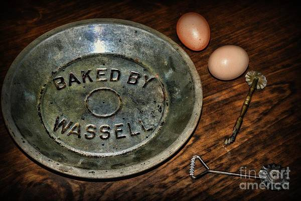 Wall Art - Photograph - Kitchen - Pie Baking Tools by Paul Ward