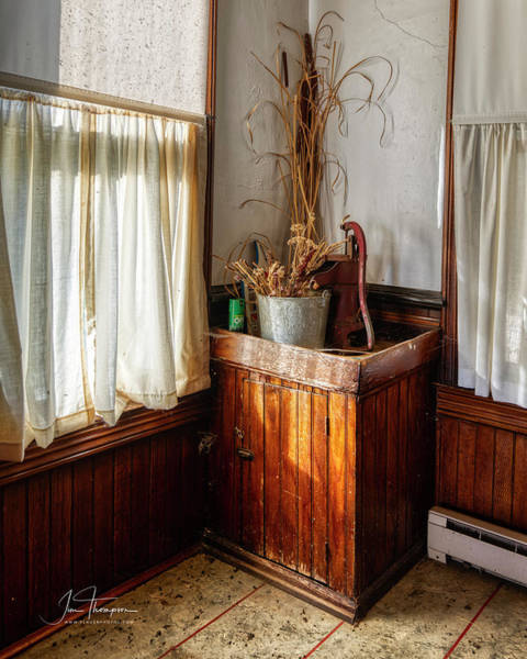 Photograph - Kitchen Water Pump by Jim Thompson