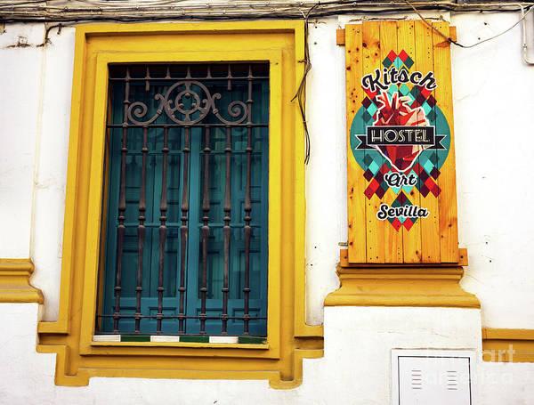 Photograph - Kitsch Hotel Seville by John Rizzuto